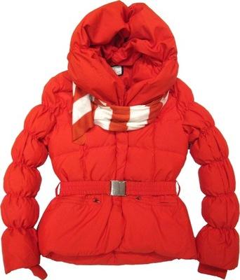 81e0b8455d965 FLASH WOMAN czerwona pikowana kurtka puchowa * 36 7745567004 ...
