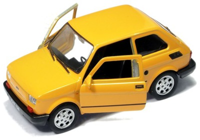 металлические АВТО ?????????? Fiat 126p МАЛЫШ Welly 1 :32