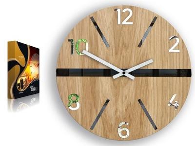 """Moderný design nástenné hodiny Veľké king size bed """" quiet 3D Zrkadlo"""