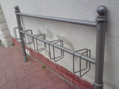 Stojak na rowery rowerowy ocynk malowany Wrocław