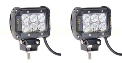 ЛАМПА рабочие светодиодные лампы 18W LED CREE 36W комплект 4x4