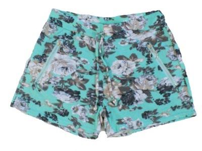 4b13bf3dc5e67 Spodnie damskie w kwiaty w Spodnie damskie casual - Moda damska na ...