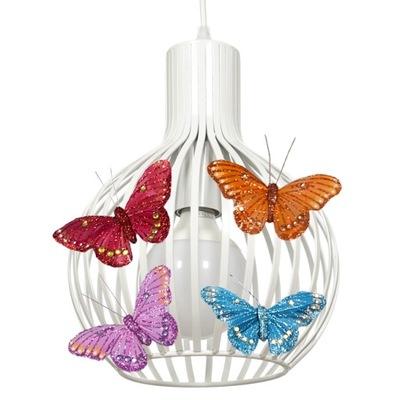 ИНТЕРЕСНАЯ Лампа подвесной светильник BUTTERFLY шар - можно LED