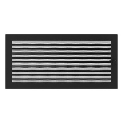 Rošt ohnisko black žalúzie 22x45 vetranie