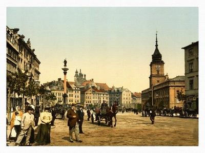 WARSZAWA Krakowskie Przedmieście 1890 r.