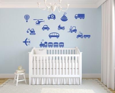 Šablóna na maľovanie stien - Šablóny modelu pre deti pre deti