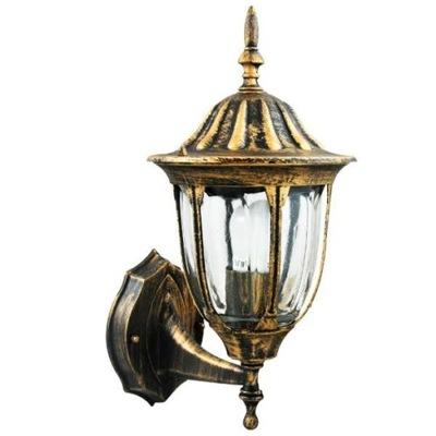 Záhradné svietidlo závesné - LAMP KINKIET OGRODOWY vonkajšia strana Patina exteriér