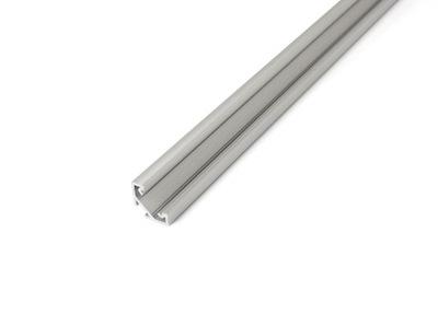 АЛЮМИНИЕВЫЙ ПРОФИЛЬ C серебро 2М для ЛЕНТ LED