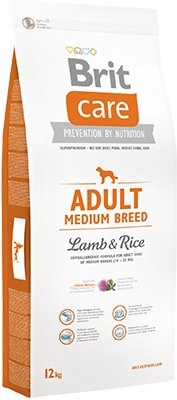 Brit Care Adult Medium Lamb Rice 12 кг