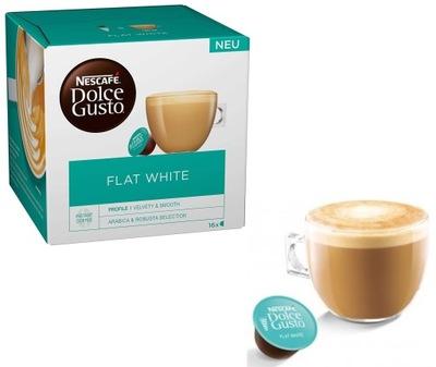 Nescafe Dolce Gusto кофе молочное Flat White 16x