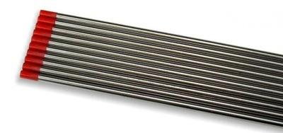 volfrámové Elektródy TIG ČERVENÁ fi 2,4 WT-20