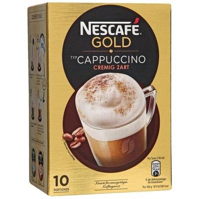 Nescafe Gold Капучино пакетики Instant из Германии