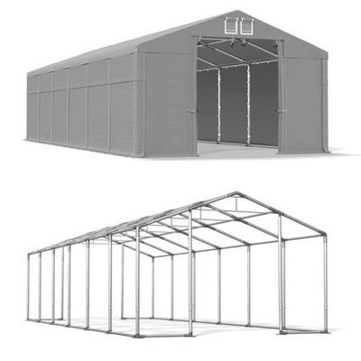 Палатка складской Winter 6x12m 3M ГАРАЖ высокий