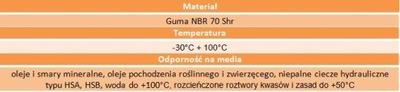 Oring uszczelka 95x4,5 70NBR