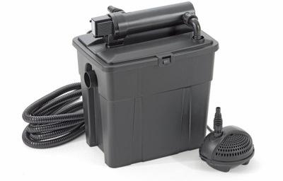 Pontec MultiClear 8000 filter Nastavený na rybník