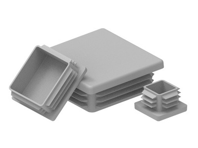 20x20 kryty PRE PROFILY - 1000 KS. SIVÁ