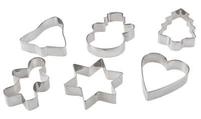ПРЕССФОРМЫ формочки пряник 6 штук Галиция