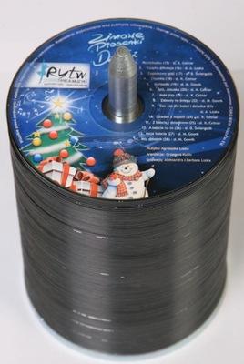 200 DVD Z NADRUKIEM NADRUK KOLOR + UV - 48h