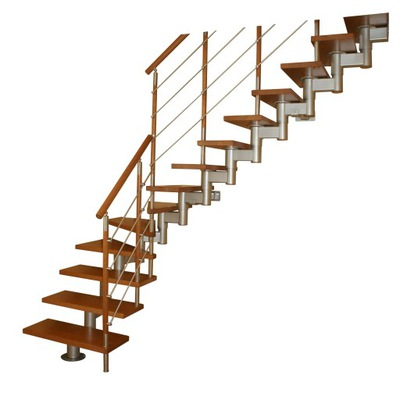 Лестница КОРА модель микс 250 Lux Л -90 13 элементов
