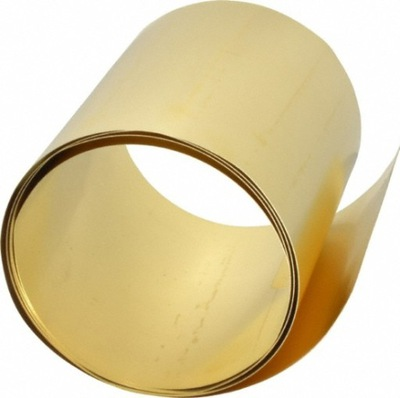 лента латунный , лист латунь Ноль ,1 мм - 30 х100 см