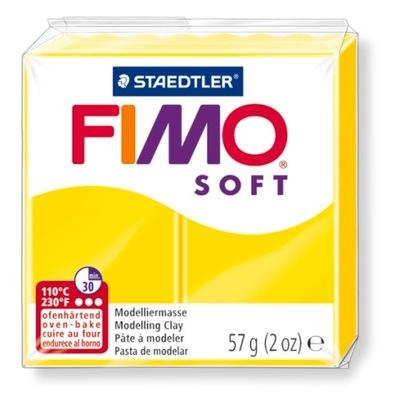 Масса Пластическая FIMO Soft 57g Лимонный 10