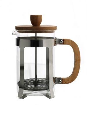 Kanvica na kávu - Zaparzacz do kawy lub herbaty BAMBUS 800 ml