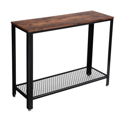Консоль-столик скамья чердак промышленный деревенский