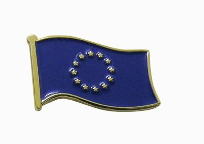 Застежка pin wpinka Евросоюз флаг