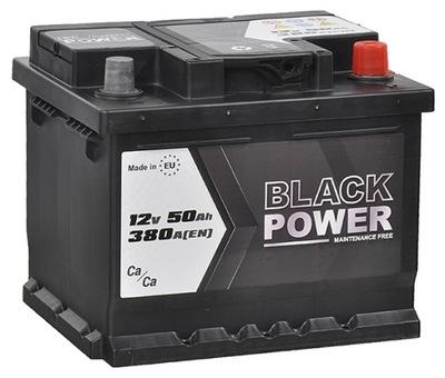 BATERÍA BLACK POWER 12V 50AH 380A