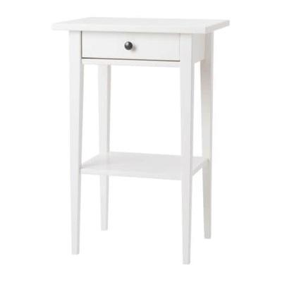 Ikea Hemnes Stolik Nocny Biały 46 X 35 Cm