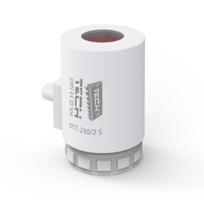 Podlahové vykurovanie - TECH pohon pre rozdeľovače STT-230 / 2S M30x1.5