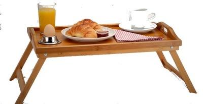 Podnos - TACA śniadaniowa stolik składany PREZENT KOLORY
