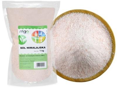 соль гималайская Маленькая, розовая 1Kg - MIGOgroup