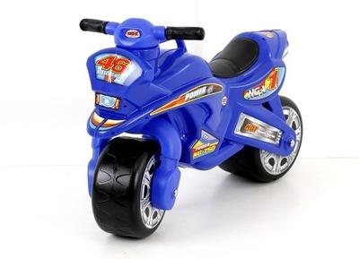 Jeździk motorku beží Motorek odpychacz