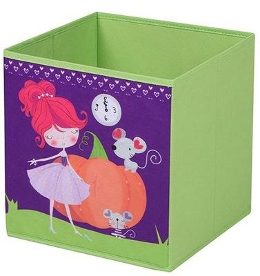 ЕМКОСТЬ коробка ОРГАНИЗАТОР на игрушки Золушка