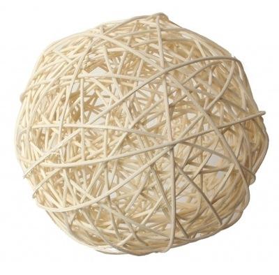 шар RATANOWA из ротанга Мяч Ротанг белая 5cm