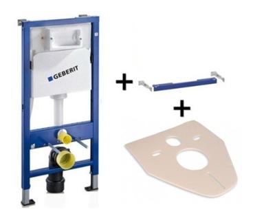 Montážny rám pre závesné WC - GEBERIT DUOFIX WC podomietková podpera rámu + mat
