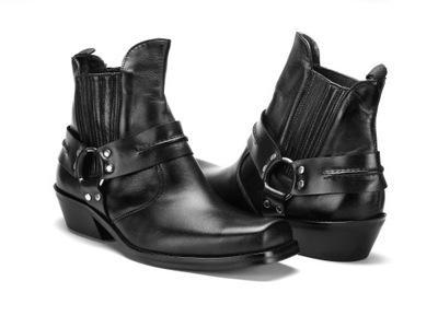 allegro buty motocyklowe kowbojki męskie