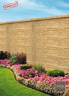 Двусторонние Забор бетонные - от производителя