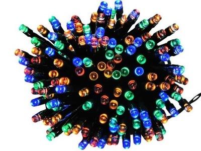 огни елочные 200 LED многоцветные цветные łączo