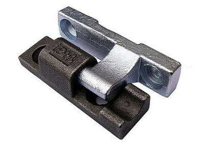 Zawias burty aluminiowej L90 L93 -kpl do wspawania