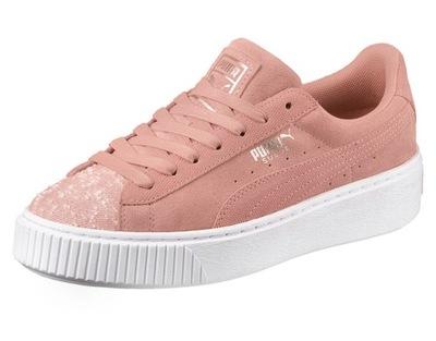 PUMA SUEDE PLATFORM WN 40 (37,5) Damskie Sneakersy