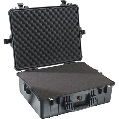 8dfbda1f2995a Walizka Peli 1485 Air Case czarna gąbka modułowa 7208453834 - Allegro.pl