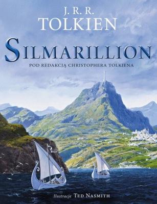 J.R.R. TOLKIEN - SILMARILLION wydanie ilustrowane