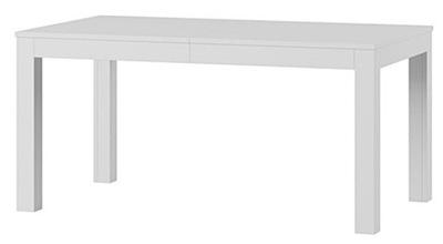 стол раскладной 160-300 ВЕНЕРА Белый мат +
