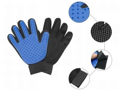 2366 перчатка для ВЫЧЕСЫВАНИЯ СОБАКИ wyczesywania массаж