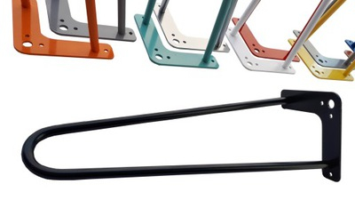 Hairpin legs Ноги металлические ножка стола 48см 2pręty