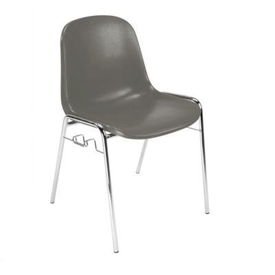 Stoličky BETA-CLIK chrome Nový štýl-v čakárni-