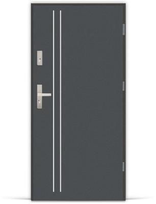 двери Внешние металлические LAK ALU 2