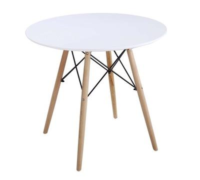 стол круглый 80 см современный design MILANO
